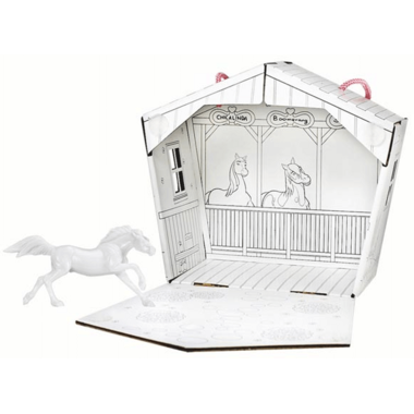 Breyer Horses Spirit Riding Free Spirit Stable and Horse Painting Kit