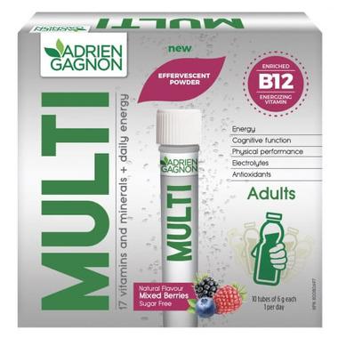 Adrien Gagnon Multi Effervescent Powder Mixed Berries