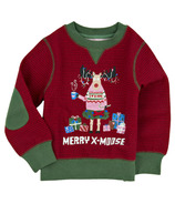 Little Blue House Kids Ugly Christmas Sweater - Merry X-Moose