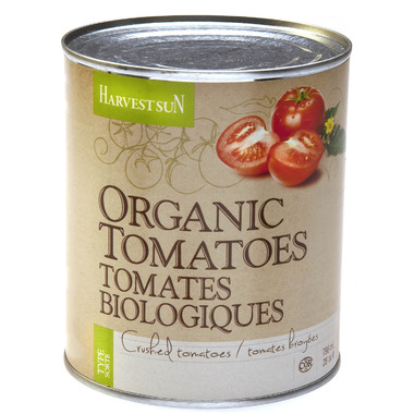 Harvest Sun Organic Canned Crushed Tomatoes