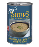 Amy's Mushroom Bisque with Porcini