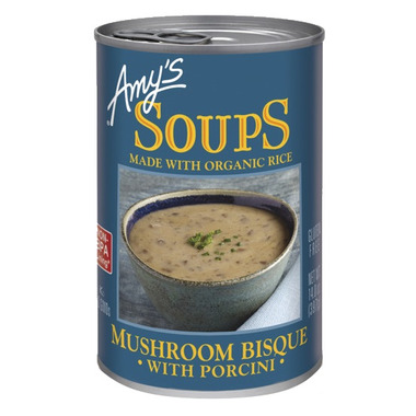 Amy\'s Mushroom Bisque with Porcini
