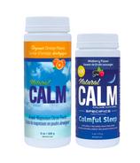 Natural Calm Magnesium Orange + Wildberry Bundle