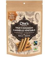 Cha's Organics True Cinnamon Quills