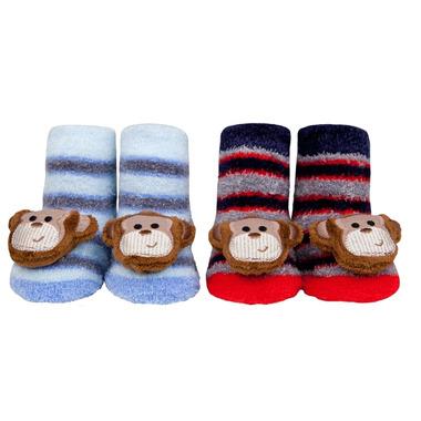Waddle Monkey Rattle Socks