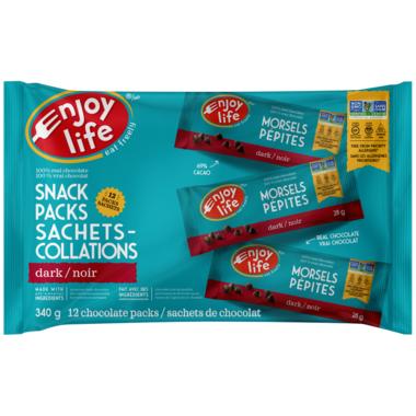 Enjoy Life Dark Chocolate Mini Chips Snack Packs