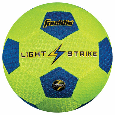 Franklin Sports Light Strike Soccer Ball