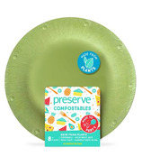 Preserve Compostables Small Plates Green