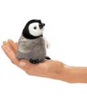 Folkmanis Baby Emperor Penguin Finger Puppet