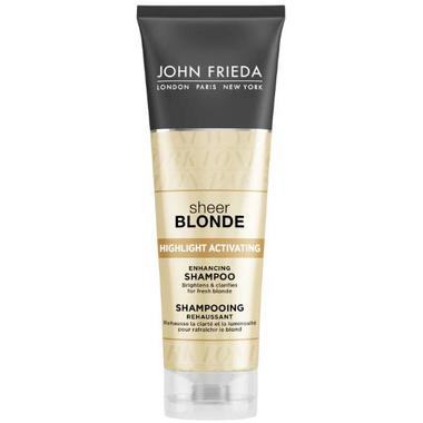 John Frieda Sheer Blonde Highlight Activating Enhancing Shampoo