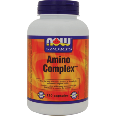 NOW Sports Amino Complex Capsules