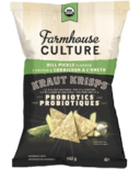 Farmhouse Culture Dill Pickle Kraut Krisps