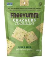 FreeYumm Herb & Seed Crackers