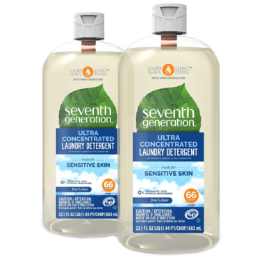 Seventh Generation Easy Dose Laundry Detergent Concentrated Free & Clear