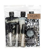Kitsch Ultimate Travel Set Black & Ivory