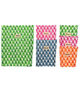 BeeBAGZ Beeswax Bags Family Pack Multi