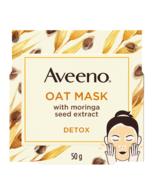 Masque visage détox Aveeno aux extraits d'avoine et de graines de moringa