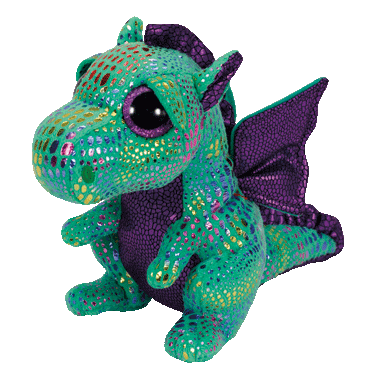Ty Cinder The Dragon Beanie Boos Small