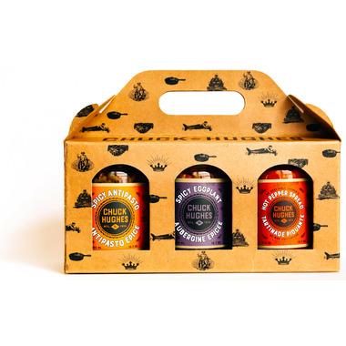 Chuck Hughes 3-Jar Spicy Gift Set