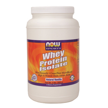 NOW Sports Whey Protein Isolate Powder