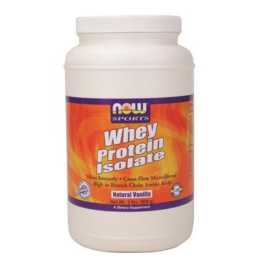 NOW Sports Whey Protein Isolate Protein Powder
