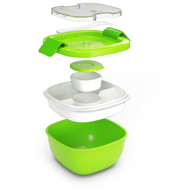 Bentgo Salad On-the-Go Container Green