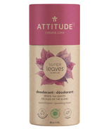 ATTITUDE Super Leaves Plastic-Free Natural Deodorant White Tea Leaves