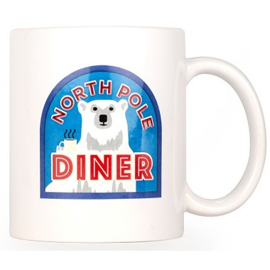 Kikkerland North Pole Mug