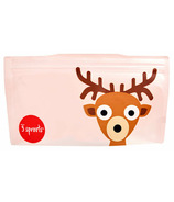 3 Sprouts Snack Bags Deer