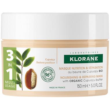 Klorane 3 In 1 Mask With Organic Cupuacu Butter