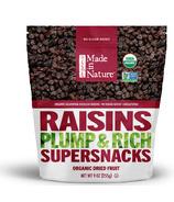 Made In Nature Organic California Seedless Raisins