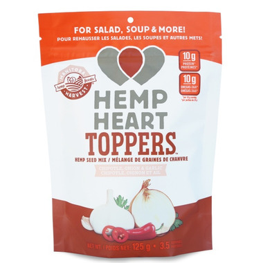 Manitoba Harvest Hemp Heart Toppers Chipotle, Onion & Garlic