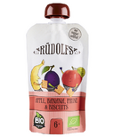 Rudolfs Organic Apple Banana Prune Puree with Biscuits