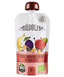Rudolfs Organic Apple Banana Prune Puree with Biscuits