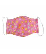 Snug As A Bug Cloth Face Mask Pink Flower