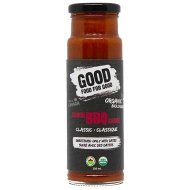 Good Food For Good Organic BBQ Sauce Classic