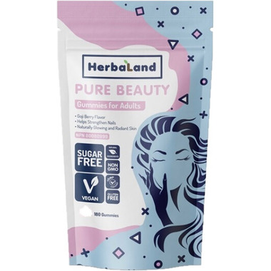 Herbaland Gummies for Adults: Pure Beauty