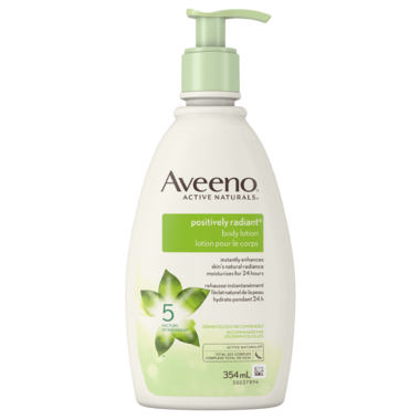 Aveeno Positively Radiant Body Lotion