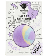 nailmatic Colouring And Soothing Bath Bomb For Kids Pulsar