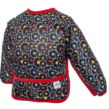 Bummis Sleeved Bib Vinyl Disc