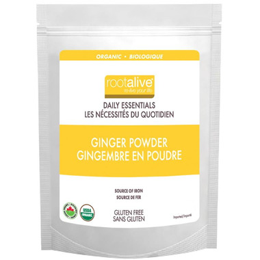 Rootalive Organic Ginger Powder