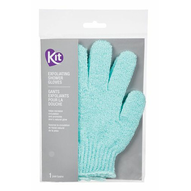 KIT Deluxe Exfoliating Shower Gloves
