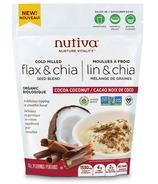 Nutiva Organic Flax & Chia Seed Blend Cocoa Coconut