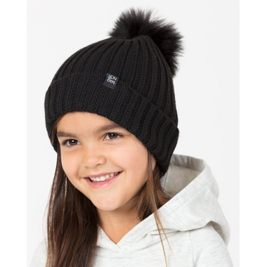 Vonbonb Knit Pom Pom Beanie Dove Grey