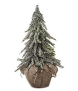 Harman Frosted Burlap Tree Small