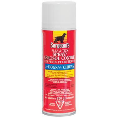 Sergent\'s Flea & Tick Spray For Dogs