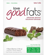 Love Good Fats Mint Chocolate Chip Bars