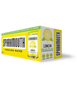Sparkmouth Lemon Sparkling Water