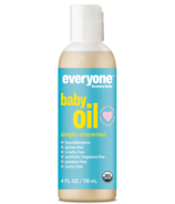Everyone Organic Baby Oil Simply Unscented