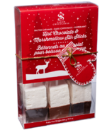 Saxon Chocolates Hot Chocolate & Marshmallow Stir Sticks Gift Box